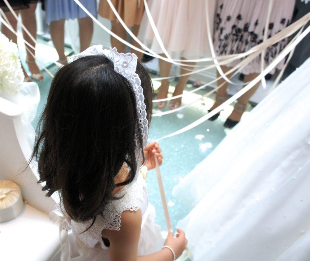 結婚式のスピーチは子供も一緒でも大丈夫なの?