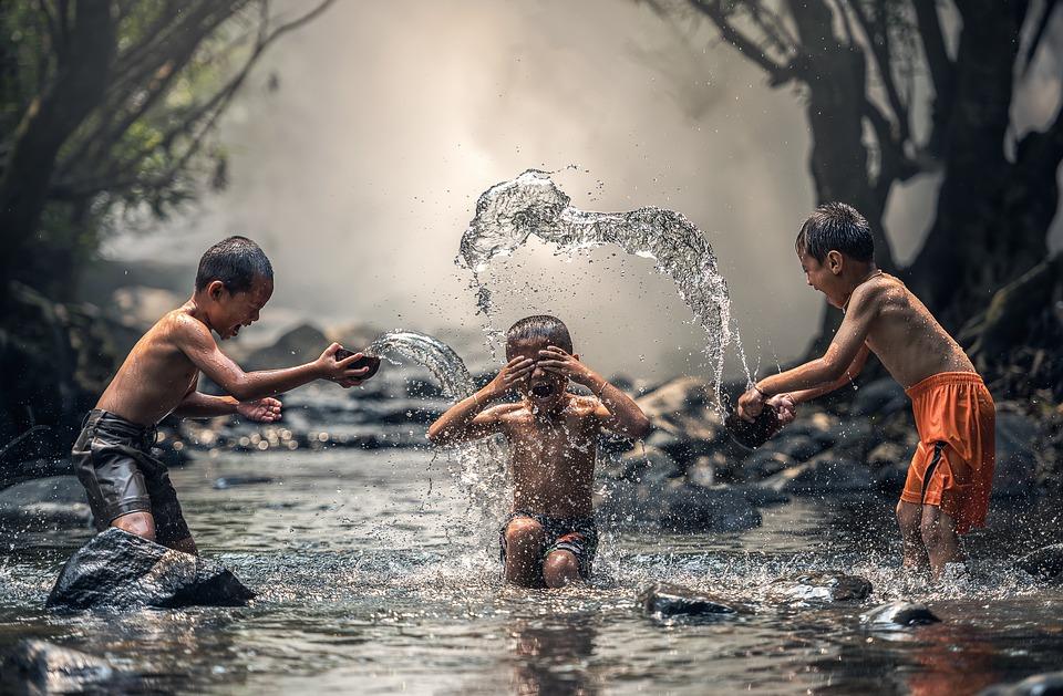 子供三人のお風呂で気を付けるポイント