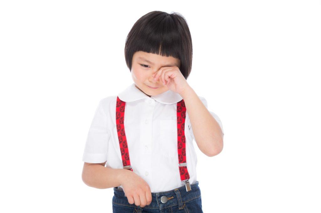 4歳児が思い通りにならないと泣く/すぐ泣く時はどうする?